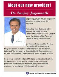 meet our new provider dr jagannath